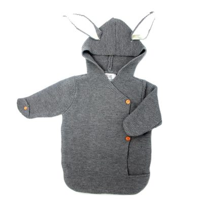 baby bunny knitted snowsuit fall